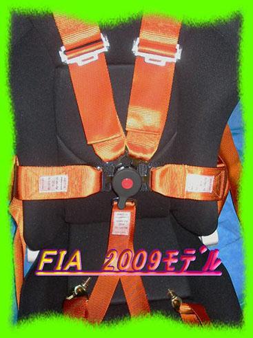 FIA2011モデルシートベルト6点式