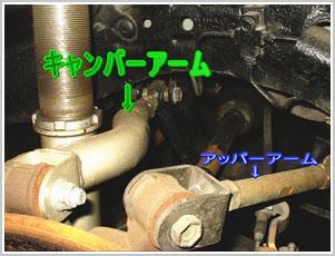 シルビア S14 リアサスペンション